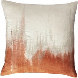 Madalene Orange Pillow Set of 4