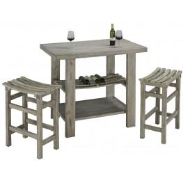 Cabernet Grey Bar Set