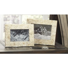 Kase Cream Photo Frame Set of 2