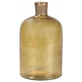 """Octavie 12"""" Amber Vase"""