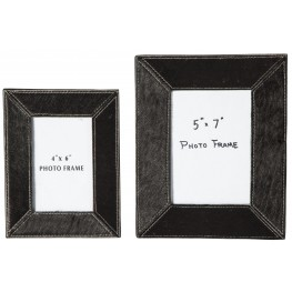 Odeda Black Photo Frame Set of 2