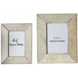 Odeda Beige Photo Frame Set of 2