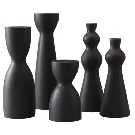 Destry Black Accessory Set of 5