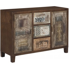 Ponder Ridge Brown Accent Cabinet