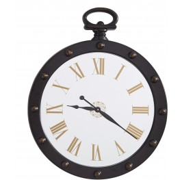 Juan Brown Wall Clock