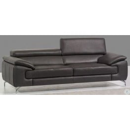 Awesome A973 Grey Italian Leather Sofa Alphanode Cool Chair Designs And Ideas Alphanodeonline