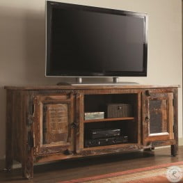700303 Reclaimed Wood TV Stand
