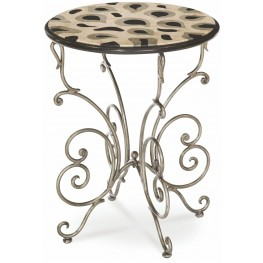 Cologne Butterfly Accent Table