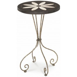 Dresden Flower Accent Table