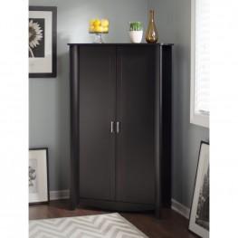Aero Classic Black 2-Door Tall Storage