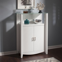 Aero White 2-Door Medium Library Storage