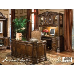 Windsor Court Home Office Set from Aico (70207)   Coleman Furniture