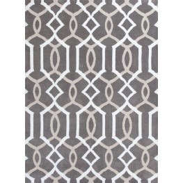 """Allure Taupe Gramercy 130"""" X 91"""" Rug"""