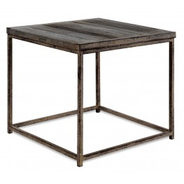 Anton Old Elm End Table