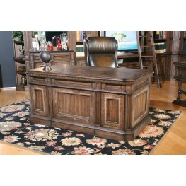 Aria Double Pedestal Executive Desk