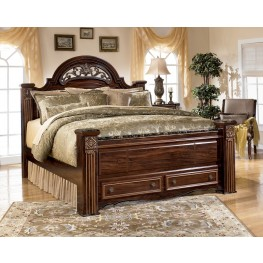 Gabriela Queen Poster Storage Bed