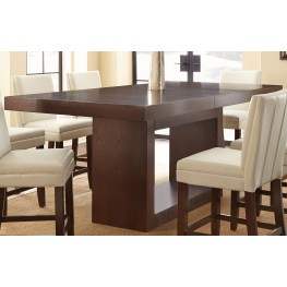 Antonio Extendable Rectangular Counter Height Dining Table