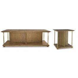 Atherton Cerused Teak Occasional Table Set