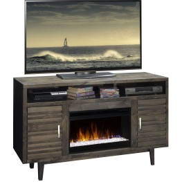 """Avondale Charcoal 61"""" Fireplace Console"""