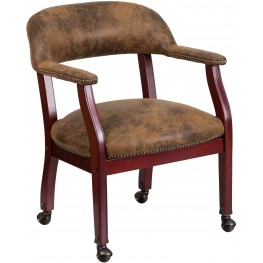 Bomber Luxurious Conference Chair With Casters (Min Order Qty Required)