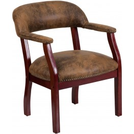 Bomber Jacket Brown Conference Chair (Min Order Qty Required)