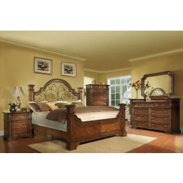 Highland Ridge Cherry King Panel Bedroom Set