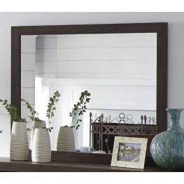 Arkaline Brown Bedroom Mirror