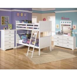 Lulu Twin Over Twin Bunk Bed