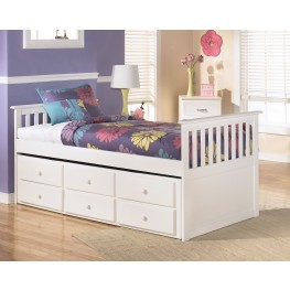 Lulu Twin Storage Bed with Super Trundle