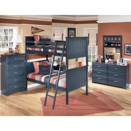 Leo Bunk Bedroom Set