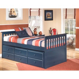 Leo Twin Trundle Storage Bed