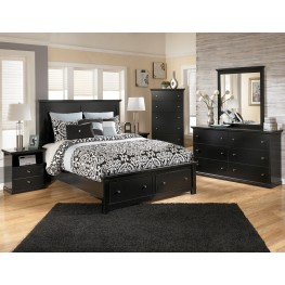 Maribel Panel Storage Bedroom Set