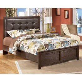 Aleydis Queen Upholstered Panel Bed