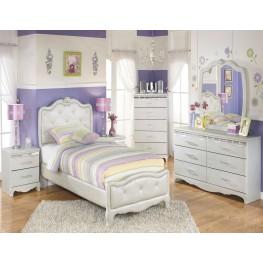 Zarollina Youth Upholstered Bedroom Set