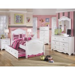Exquisite Sleigh Trundle Bedroom Set