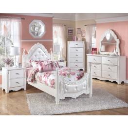 Exquisite Poster Trundle Bedroom Set