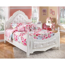 Exquisite Twin Poster Bed