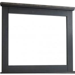 Westinton Black and Brown Bedroom Mirror