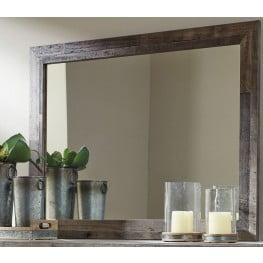 derekson gray bedroom mirror - Bedroom Mirrors