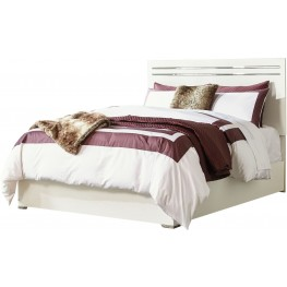 Brillaney White Queen Panel Bed