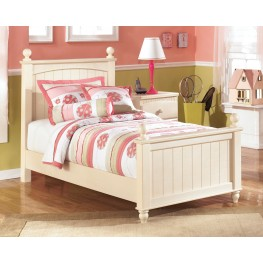 Cottage Retreat Twin Poster Bed