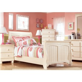 Cottage Retreat Youth Sleigh Bedroom Set