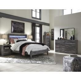 Baystorm Gray Panel Bedroom Set