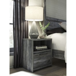 Baystorm Gray 1 Drawer Nightstand