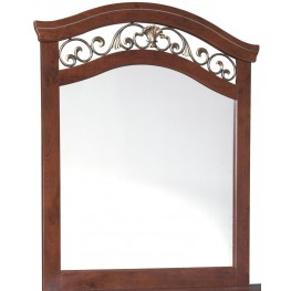 Delianna Brown Bedroom Mirror