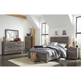 Cazenfeld Black and Gray Youth Panel Bedroom Set