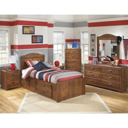 Barchan Youth Panel Underbed Storage Bedroom Set
