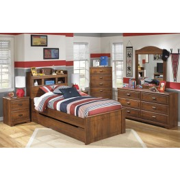 Barchan Youth Trundle Bookcase Bedroom Set