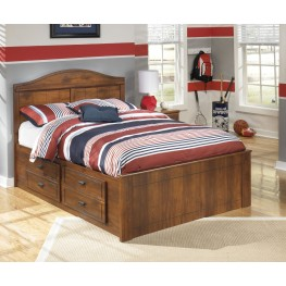 Barchan Full Panel Bed With Underbed Storage