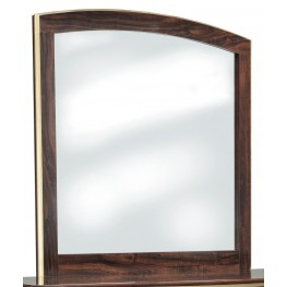 Lenmara Reddish Brown Bedroom Mirror